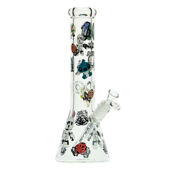 Nice Glass STAR WARS BEAKER BONG 13
