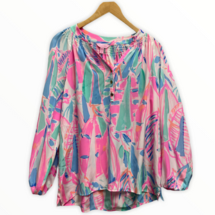 Primary Photo - BRAND: LILLY PULITZER STYLE: BLOUSE COLOR: PINKGREEN SIZE: S SKU: 168-16845-31427