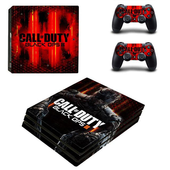 Call Of Duty PS4 Sticker