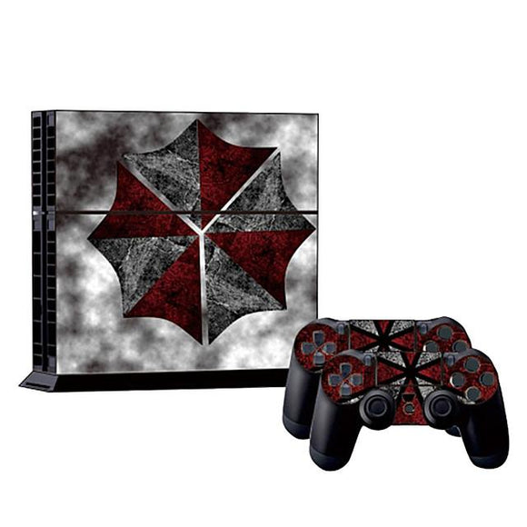 Umbrella Collaboration PS4 Sticker