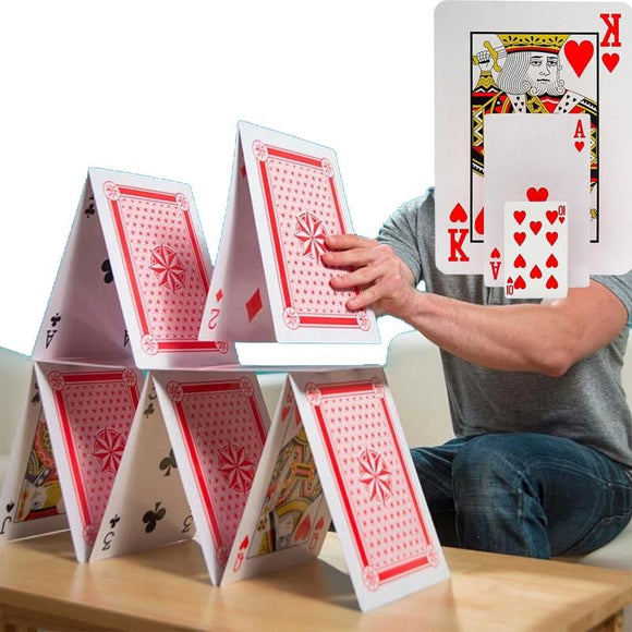 3 Size 2/4/9 Times Super Big Giant Jumbo Playing Cards