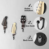 Retro 3 Pcs/Set Guitar Heads Hooks
