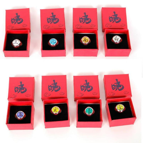 Anime Naruto Rings