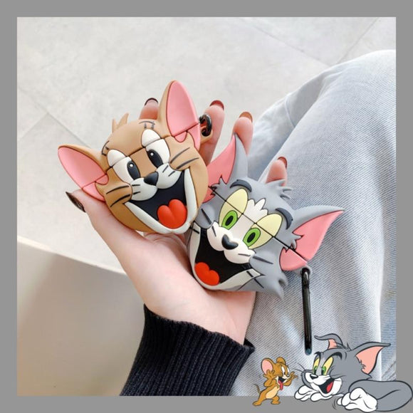 Tom Cat and Jerry Mouse Headphone Case