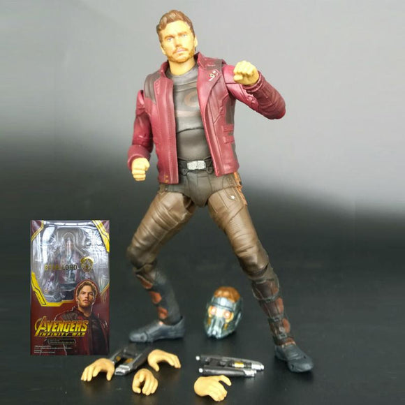 Avengers Infinity War Star Lord Action Figure