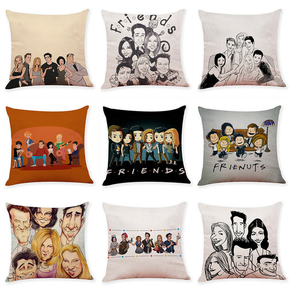 Friends Decorative Pillow Cover - BE.UNIQUE
