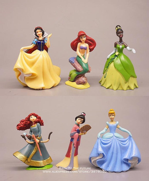 Disney princesses Mini Figures - Set