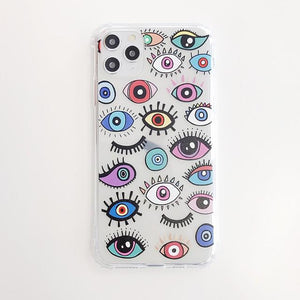 Cartoon Eyes Phone Case