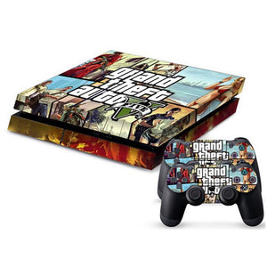 Crazy Game PS4 Sticker