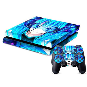 Anime Girl PS4 Sticker