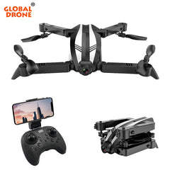 Global Drone SPYDER-X Quadrocopter,  Helicopter WIFI FPV Foldable Quadcopter Selfie Drone
