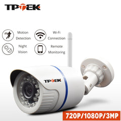 HD 1080P IP Camera Outdoor WiFi Home Security Camera ( Wireless Surveillance  Waterproof Cam)