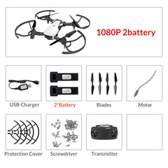 1080P / 720P HD  16Mins Flight Time Foldable RC Drone Quadcopter