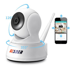Home Security Two Way Audio Wireless Mini Camera Night Vision (CCTV WiFi Camera Baby Monitor iCsee)