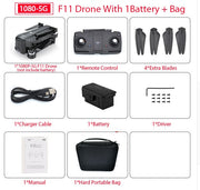 F11 PRO GPS Drone With WiFi ( 5 minutes Flight Time)
