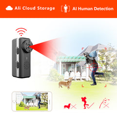 HD Smart Mini Wifi Camera  AI Human Detection (Night Vision Security Cam Max 128G)