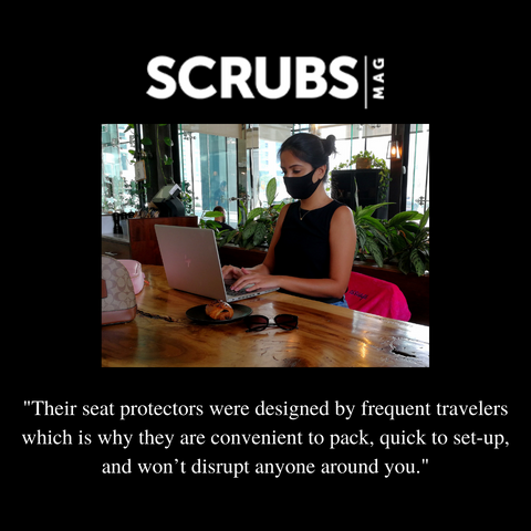 Scrubs Mag recommends Assuage seat covers.