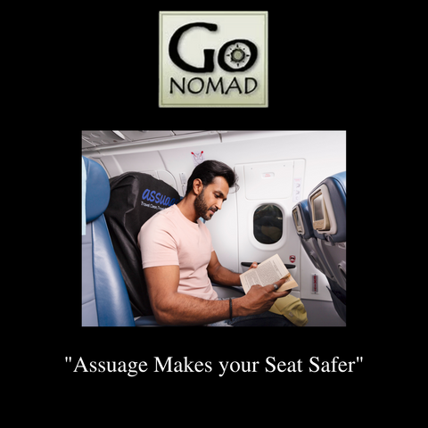 Go Nomad recommends Assuage seat protectors as a gift for your favorite Traveler