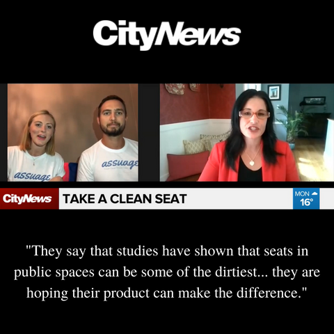 Assuage Founders interviewed on CityNews Toronto