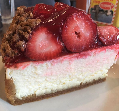 Junior's Strawberry Cheesecake