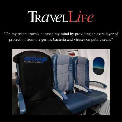 Travel Life Magazine recommend's Assuage seat covers