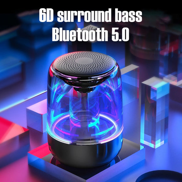 Colorful Atmosphere Light Bluetooth Speaker