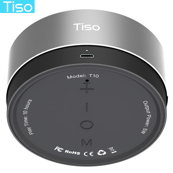 Tiso 10-15 hours playtime Bluetooth speaker