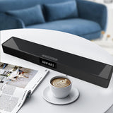 Stereo System Sound Bar Subwoofer with Wireless Charger