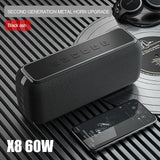 X8 60W bluetooth speakers with subwoofer
