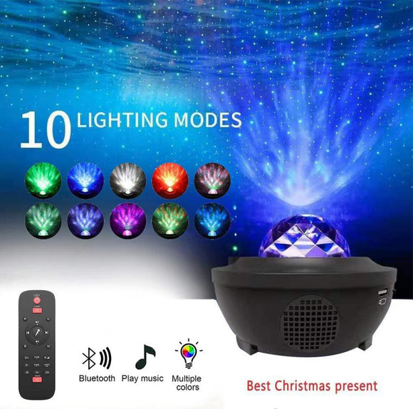 Bluetooth speaker with LED