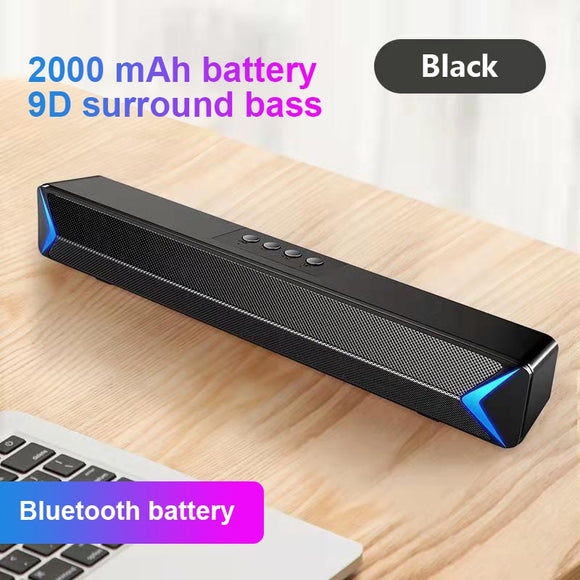 Sound Bar USB Wired And Wireless Bluetooth