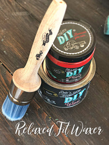 DIY Wax Brush Relaxed Fit Synthetic Round