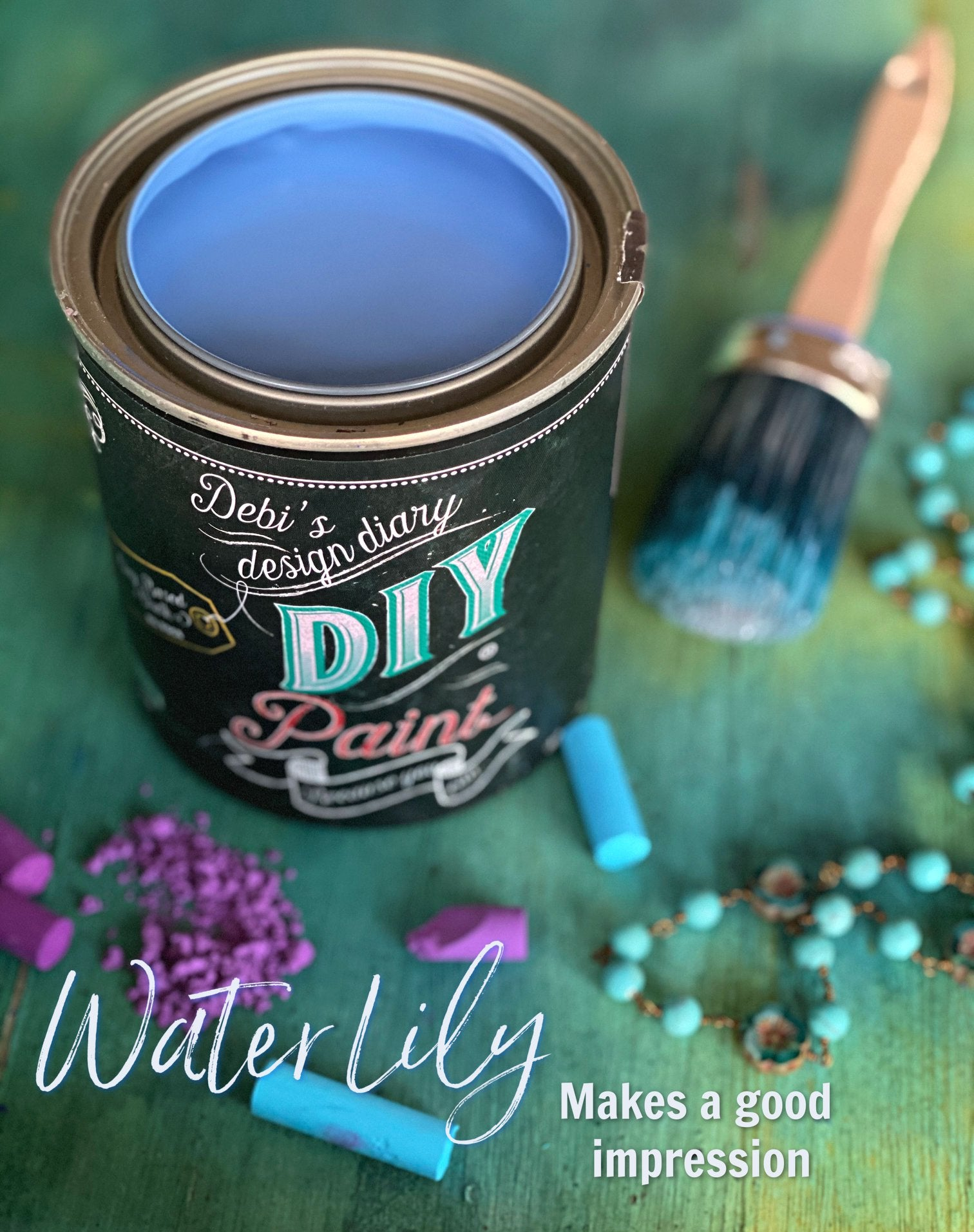 Water Lily DIY Paint