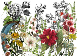 Midnight Garden 24x33 Decor Transfer™