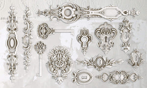 Lock & Key 6×10 Decor Moulds™