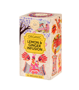 Organic Lemon & Ginger Infusion