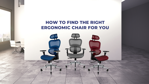 How to Find the Right Ergonomic Chair for You