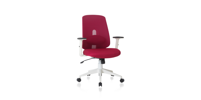 NOUHAUS® Palette Ergonomic Lumbar Adjust Rolling Office Chair