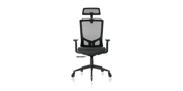 NOUHAUS® ErgoTask - Ergonomic Task Office Chair with Headrest