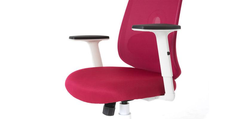 NOUHAUS Palette Ergonomic Lumbar Adjust Rolling Office Chair