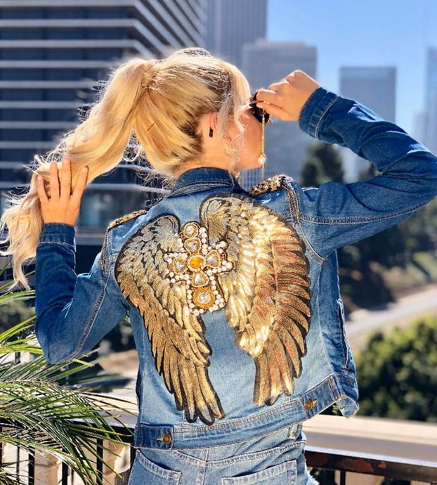 Golden Wings Jacket