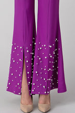 Load image into Gallery viewer, Princes Purple Flared Pants