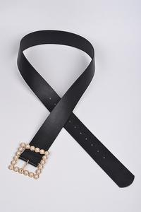 Belt Square Pearl Gold