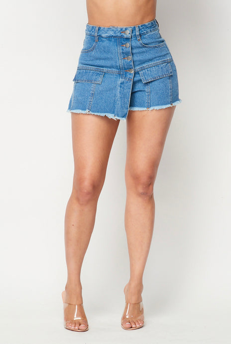 Lizzy Denim Short