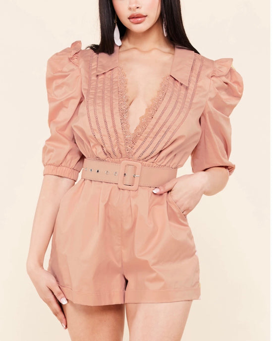 Dasha Dusty Rose Romper