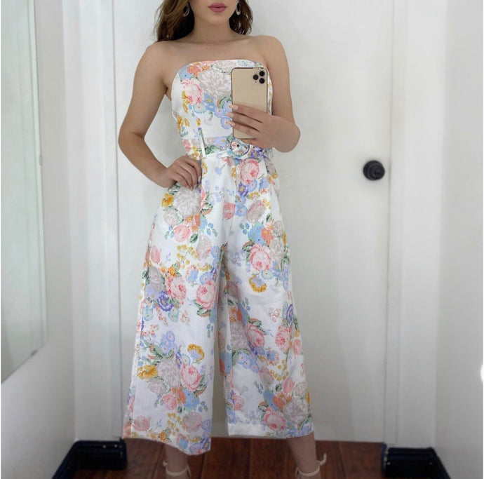 Vintage Flower Jumpsuit
