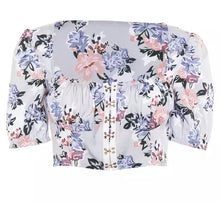 Load image into Gallery viewer, Crop Boho Top