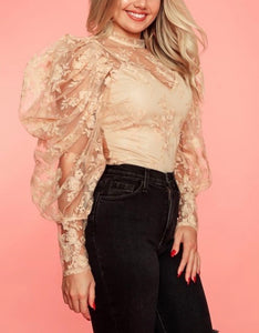 Beatriz Blush Floral Top