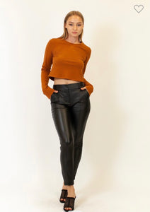 Cropped Skinny Pant