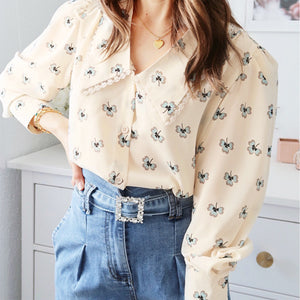 Belén Long Sleeve Blouse